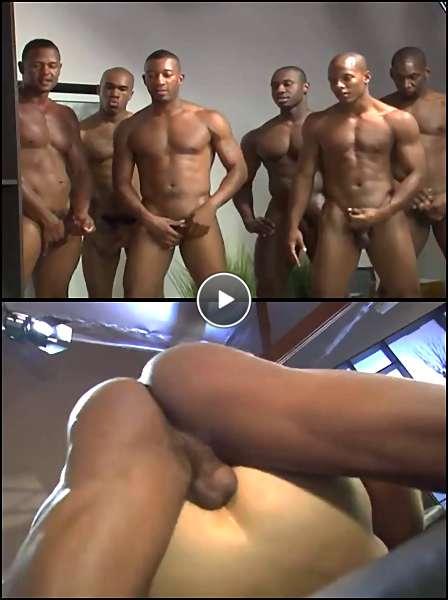 black gay porn orgy video