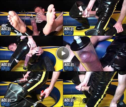 porn dick pump video